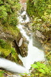 Pailon Del Diablo Waterfall Royalty Free Stock Images