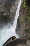 Pailon del Diablo waterfall, Ecuador Stock Photography