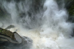 Pailon Del Diablo waterfall, Ecuador Stock Images
