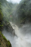 Pailon Del Diablo waterfall, Ecuador Stock Photos