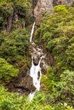 Pailon Del Diablo Waterfall Vertical Royalty Free Stock Photo