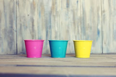 Pails Royalty Free Stock Photography