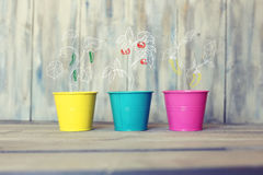Pails Royalty Free Stock Photo