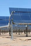 Painéis da energia solar imagens de stock
