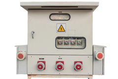 Painéis de controle em um labOblique da eletrônica Fotos de Stock Royalty Free