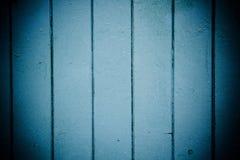 Painéis de madeira azuis Imagens de Stock