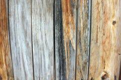 Painéis de madeira como o fundo Imagem de Stock Royalty Free