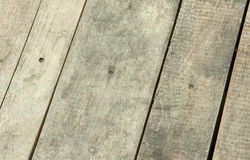 Painéis de madeira de lado a lado Imagem de Stock