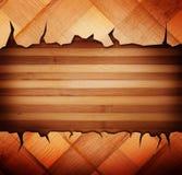 Painéis de madeira usados como o fundo Imagens de Stock Royalty Free
