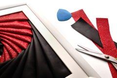 Painéis de parede de dobramento da técnica da íris por exemplo Imagem de Stock Royalty Free