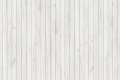 Painéis lavados branco da madeira do grunge E Assoalho de madeira lavado velho do vintage da parede fotos de stock