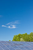 Painéis Photovoltaic Fotografia de Stock Royalty Free