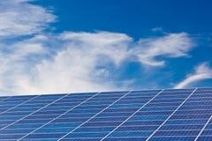 Painéis Photovoltaic Imagem de Stock Royalty Free