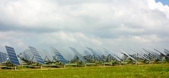 Painéis Photovoltaic Imagens de Stock Royalty Free