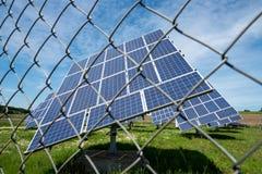 Painéis Photovoltaic Imagem de Stock