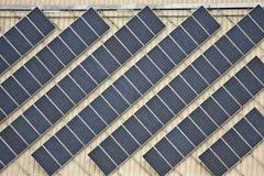 Painéis solares Imagem de Stock Royalty Free