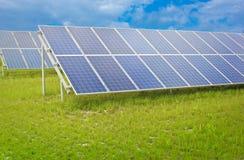 Painéis solares Fotos de Stock