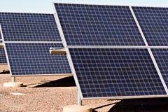Painéis solares Foto de Stock Royalty Free