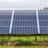 Painéis solares 3 Foto de Stock Royalty Free