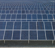 Painéis solares, energia nova Fotos de Stock Royalty Free