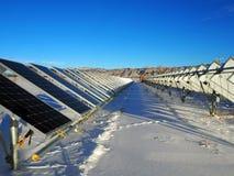 Painéis solares pequenos fotos de stock royalty free