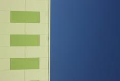 Painéis sustentáveis do edifício Imagens de Stock Royalty Free
