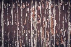 Painéis velhos de madeira da textura ou do fundo ou do papel de parede Imagem de Stock