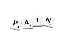 Pain Royalty Free Stock Images