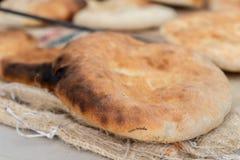 Pain arabe de tradition - pain pita photos libres de droits