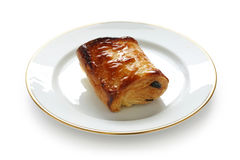 Pain au chocolat Stock Photo