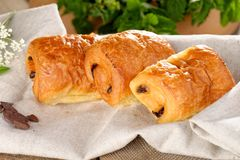 Pain au chocolat Stock Photography
