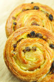 Pain aux raisins Royalty Free Stock Photography