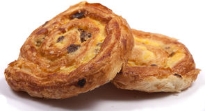 Pain aux raisins Royalty Free Stock Photo