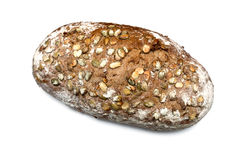 Pain avec des graines Photo libre de droits