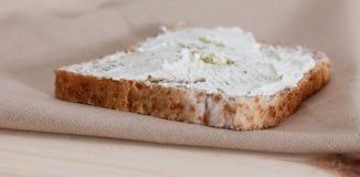 Pain avec du fromage Photo stock