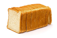 Pain coupé en tranches de blé Image stock