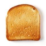 Pain coupé en tranches de pain grillé Images libres de droits