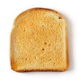 Pain coupé en tranches de pain grillé Photos stock