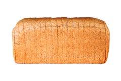 Pain coupé en tranches par blé entier Image stock