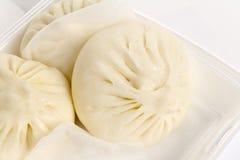 Pain cuit à la vapeur chinois Photos stock