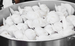 Pain cuit à la vapeur chinois de substance Image libre de droits