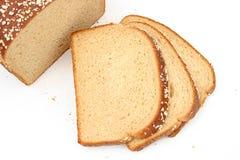 Pain délicieux de blé de miel Photos stock