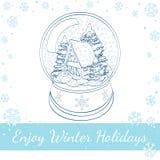 Pain d'épice, biscuits et verre de Noël de lait Image stock