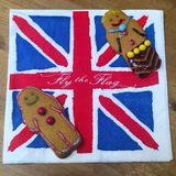 Pain d'épice britannique Photo libre de droits
