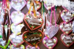 Pain d'épice coloré Photos libres de droits
