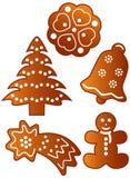 pain d'épice de biscuits illustration libre de droits
