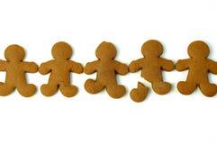 pain d'épice de biscuits Images libres de droits