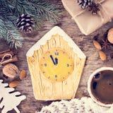 Pain d'épice de biscuits de Noël Photos stock
