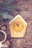 Pain d'épice de biscuits de Noël Photographie stock libre de droits