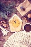 Pain d'épice de biscuits de Noël Image stock